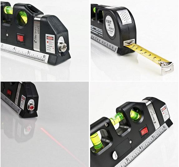 Fixit Laser Level Pro 3 Multi Purpose Measuring Tool